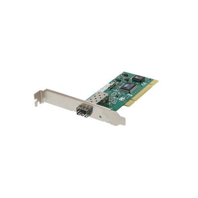 LevelOne SFP Fiber, PCI 32bit v2.1 33/66MHz, 200Mbps, IEEE 802.3u/ah/x, IEEE 802.1p/Q Netwerkkaart - Aluminium