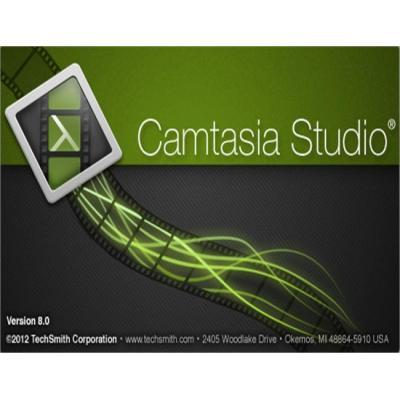 TechSmith videosoftware: CAMTASIA STUDIO 8 US/DE/FR CD-ROM SINGLE USER (LET OP: Prijs is per us