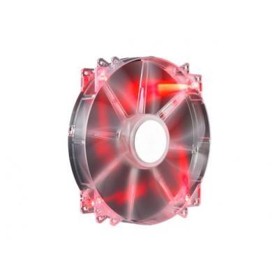 Cooler master Hardware koeling: MegaFlow 200 - Doorschijnend