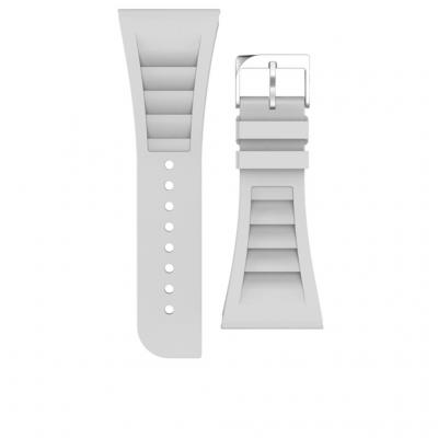 Case-mate horloge-band: Apple Watch 42mm, elastomer - Wit