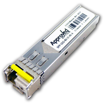 Alcatel-Lucent 1000Base-BX SFP transceiver w/ LC interface Netwerk tranceiver module
