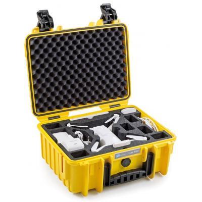 B&w : PP/Foam, 294.6x365.7x170.1mm, 1.67kg, Yellow - Geel
