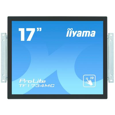 "Iiyama touchscreen monitor: 43.18 cm (17 "") , TN LED, projective capacitive, multitouch, 16.7 million, 5 ms, 5 : 4, 225 ....."