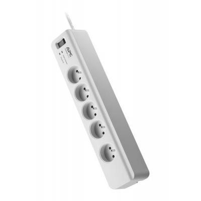 APC Essential SurgeArrest 5 outlets 230V France surge protector - Wit