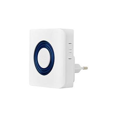 Viewonhome sirene: Wireless indoor strobe siren - Wit