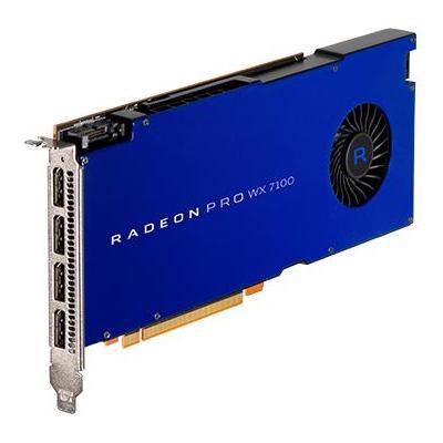 Amd videokaart: RADEON PRO WX 7100 - Blauw