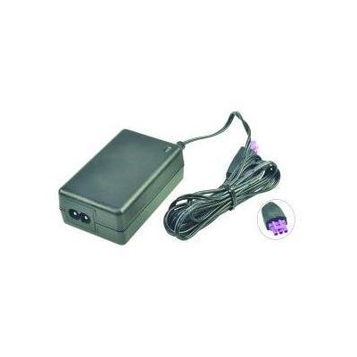 2-power netvoeding: AC Adapter 10W, 110 - 240V w/ Power cable for HP DeskJet 1000/2000 - Zwart
