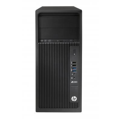HP Z240 pc - Zwart