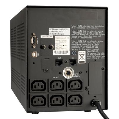 ROLINE LineSecure II 1500 UPS - Zwart