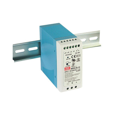 LevelOne POW-4811 Power supply unit - Blauw, Wit