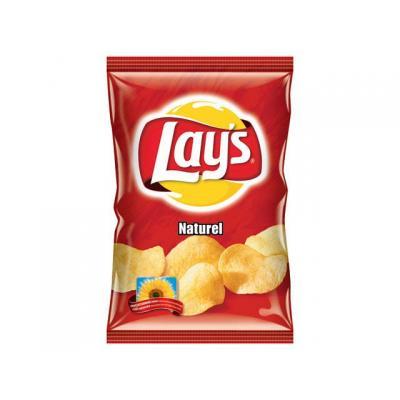 Lay's chip: Chips Naturel/doos 8x200gram