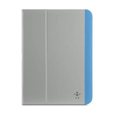 Belkin tablet case: Slim Style-hoes voor de Samsung Galaxy Tab 4 10.1 - Blauw, Zilver