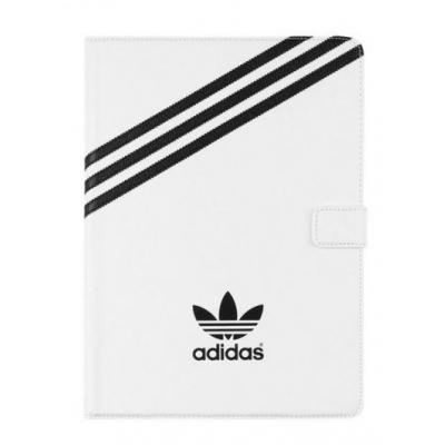 Adidas Basics Stand Case, Apple iPad Air 2 Tablet case - Zilver, Wit