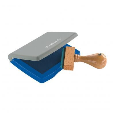 Pelikan stempel inkt: Stempelkussens in plastic doosje - Blauw, Grijs