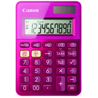 Canon calculator: LS-100K - Roze