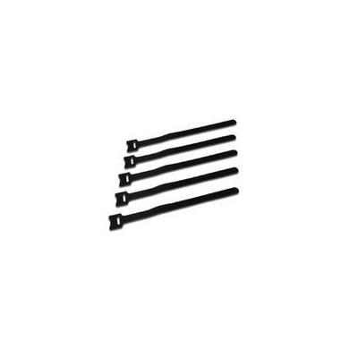 Microconnect kabelbinder: Cable tie, hook and loop - Zwart