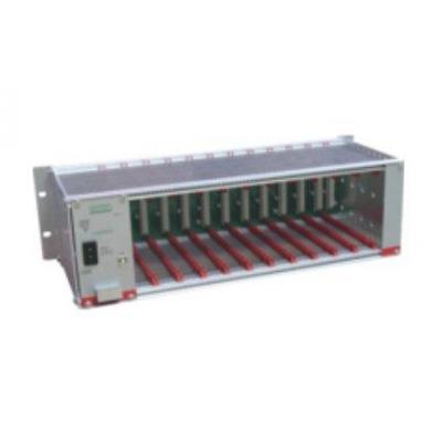 Anttron rack: DTVRack Empty rack w/ power supply incl. - Metallic
