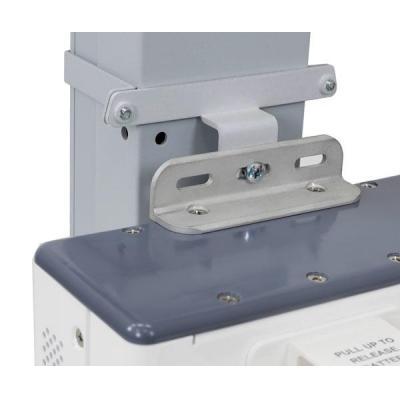 Ergotron multimedia accessoire: 10 kg, 2 bracket sets, 18 x 23 cm - Grijs