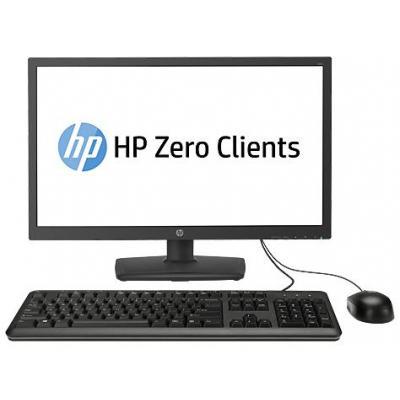 Hp thin client: t310 All-in-One Zero Client - Zwart