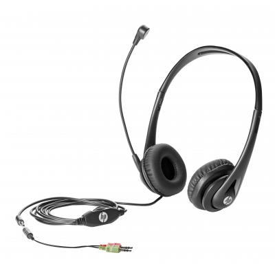 Hp headset: Business headset v2 - Zwart (Demo model)