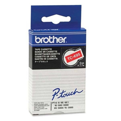 Brother TC-495 Labelprinter-tapes