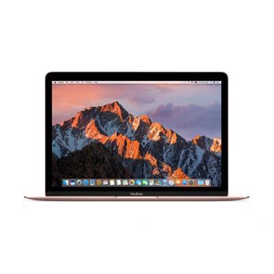 Apple laptop: MacBook 12 (2017) - m3 - 256GB - Rose Gold - Roze goud