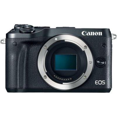 Canon digitale camera: EOS M6 - Zwart
