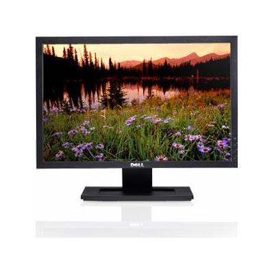 "DELL monitor: E2009W - 20"", 1680 x 1050, 1000:1, 300 cd/m2, 16.7 M, 5 ms - Zwart (Approved Selection Standard ....."