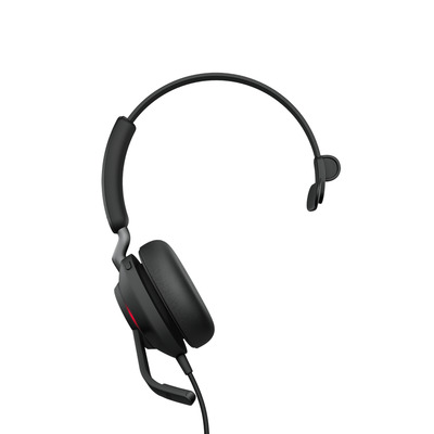 Jabra Evolve2 40 UC Mono USB-C Headset - Zwart