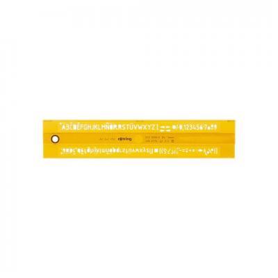 Rotring lineaal: S0228530 - Oranje