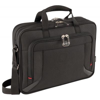 "Wenger/swissgear laptoptas: PROSPECTUS 40.64 cm (16"") Laptop Briefcase with Tablet / eReader Pocket, Black - Zwart"