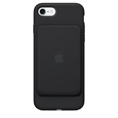 Apple mobile phone case: Smart Battery Case voor iPhone 7 - Zwart