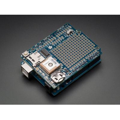 Adafruit : Ultimate GPS Logger Shield - Includes GPS Module