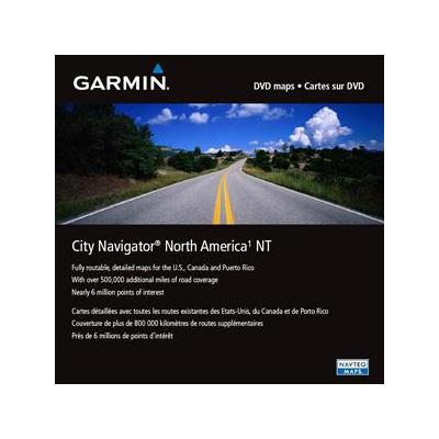 Garmin City Navigator North America NT, DVD Map update