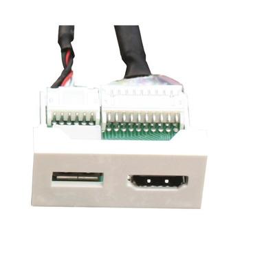 Garbot FA-2420-USB-HDMI-F/F-PH-20CM Wandcontactdoos