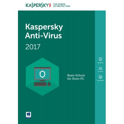 Kaspersky lab software: Anti-Virus 2017