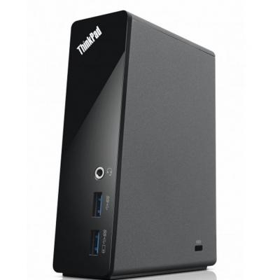 Lenovo mobile device dock station: ThinkPad Basic USB 3.0-dockingstation - Zwart