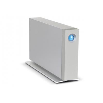 Lacie externe harde schijf: d2 Thunderbolt 2 4TB - Blauw, Zilver