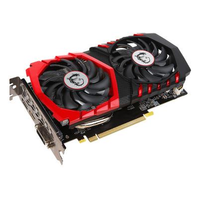 Msi videokaart: GeForce GTX 1050 Gaming X 2G - Zwart, Rood
