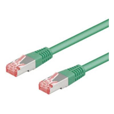 Goobay CAT 6-100 SSTP PIMF Green 1m Netwerkkabel