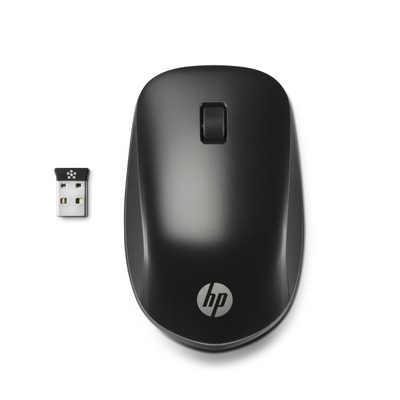 Hp computermuis: Ultra Mobile Wireless - Zwart