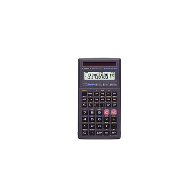 Casio calculator: FX-82 rekenmachine Solar - Zwart