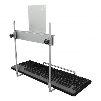 Dataflex accesoire: Viewmate toetsenbordhouder - optie 592 - Zilver