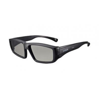 Epson 3D-Brillen: Passive 3D Glasses for Adult (x5) - ELPGS02A - Zwart