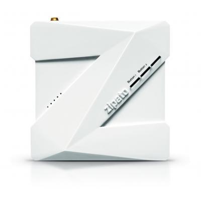 Zipato : ZipaBox, 208MHz, 64MB RAM, 128MB Flash, 10/100/1000Base-T Ethernet, Z-Wave, 100 - 240V, 50/60Hz - Wit