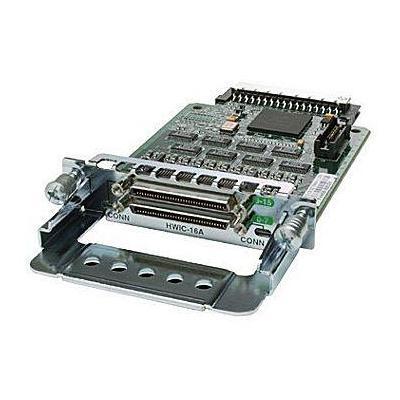 Cisco netwerkkaart: 16-Port Asynchronous High-Speed WAN Interface Card