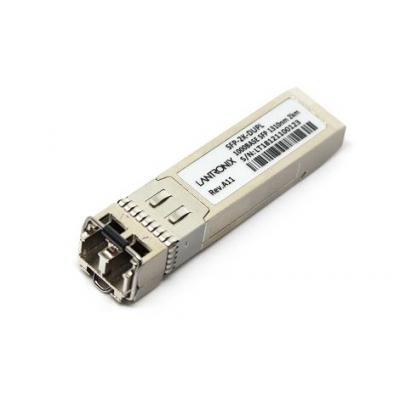 Lantronix SFP, BiDi, 10km, 1000BASE-BX, 1490nm-TX/1310nm-RX, SM Netwerk tranceiver module