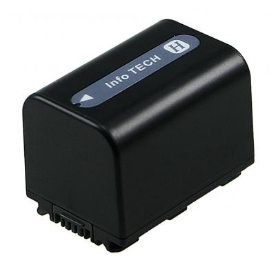 2-Power Camcorder Battery 6.8v 1500mAh - Zwart