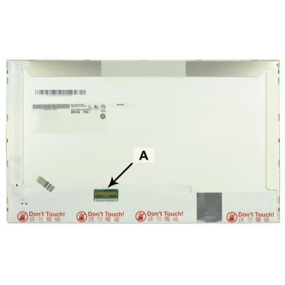"""2-power notebook reserve-onderdeel: 35.56 cm (14.0 """") HD+ 1600 x 900 LED Matte - Zwart"""
