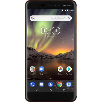 Nokia smartphone: 6.1 - Zwart, Koper 32GB